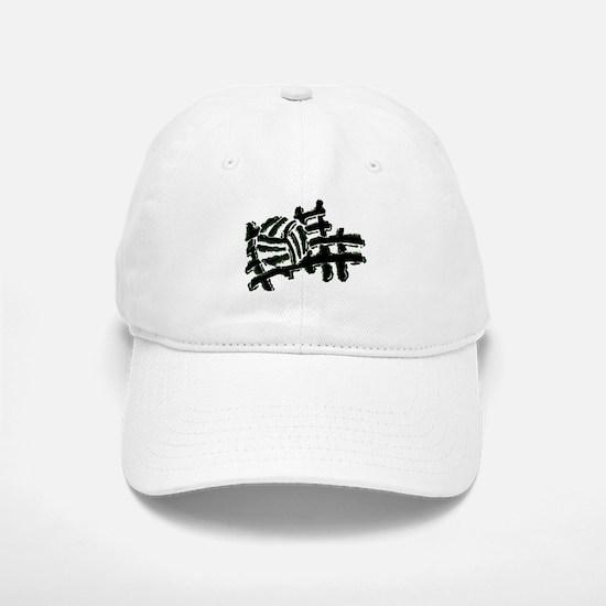 VOLLEYBALL {13} : green Baseball Baseball Cap