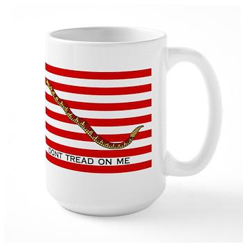 Large First Navy Jack Flag Mug