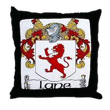 Lane Coat of Arms Throw Pillow