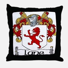 Lane Coat of Arms Throw Pillow