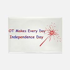 OT Independence Rectangle Magnet (10 pack)