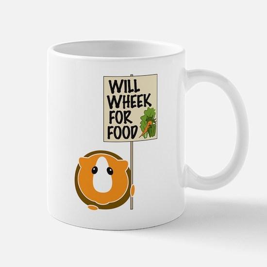 Will Wheek for Food Mug