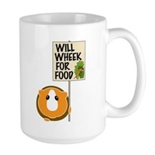 Will Wheek for Food Coffee Mug