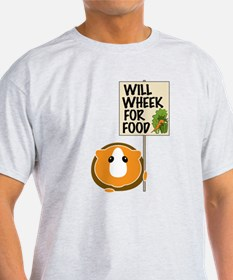 Will Wheek for Food T-Shirt