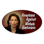 Americans Against Michele Bachmann bumper sticker