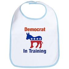 Democrat In Training Baby Bib