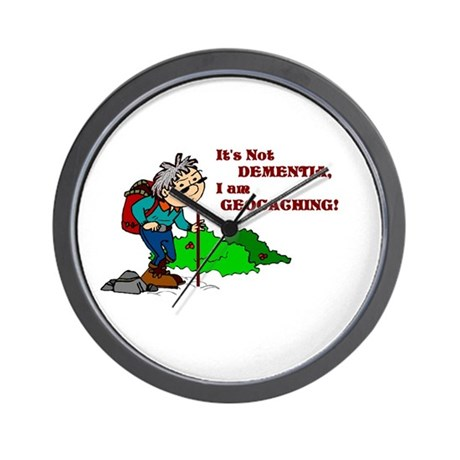 It's Not DEMENTIA! Wall Clock