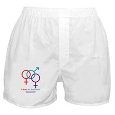 I Share my Boyfriend. Interes Boxer Shorts