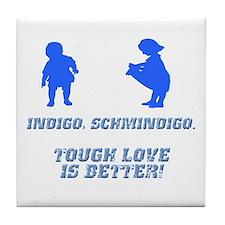 Indigo, Schmindigo Tile Coaster