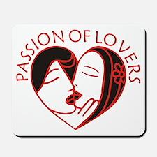 Lovers KISS Mousepad