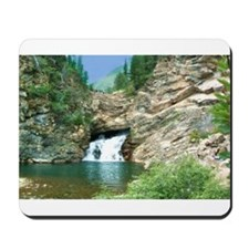 Glacier National Park Waterfall Mousepad