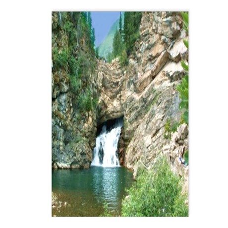Glacier National Park Waterfall Postcards (Package