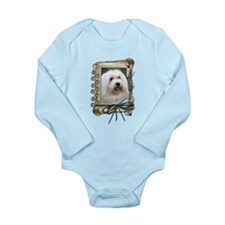 Fathers Day - Stone Paws Long Sleeve Infant Bodysu