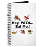 EAT AN ANIMAL FOR PETA DAY Journal
