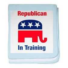 Republican In Training baby blanket