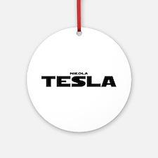 Tesla Ornament (Round)