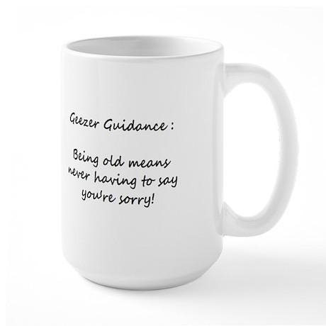 Large Geezer Guidance Mug #9