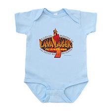 Lava Lager Beer Infant Bodysuit
