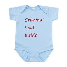 Criminal Soul Inside Infant Bodysuit