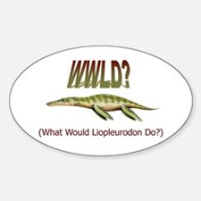 What Would Liopleurodon Do? Decal