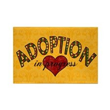 Adoption In Progress - Rectangle Magnet