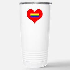 Valentine's Day - LGBT Stainless Steel Travel Mug