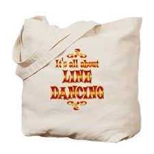 About Line Dancing Tote Bag
