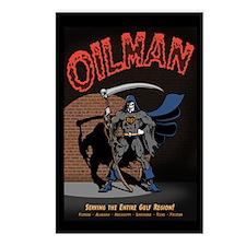 Oilman Postcards (Package of 8)