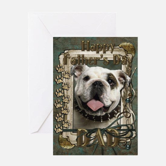 Fathers Day - Stone Paws Greeting Card