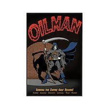 Oilman Rectangle Magnet (10 pack)