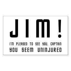 Jim! Decal