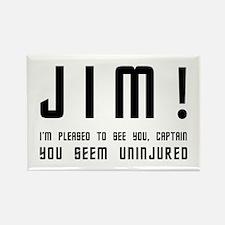 Jim! Rectangle Magnet