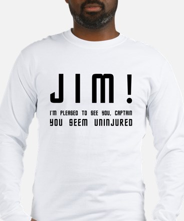 Jim! Long Sleeve T-Shirt