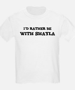 With Shayla Kids T-Shirt