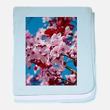 Almond Blossom baby blanket