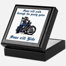 Some Will Ride Keepsake Box
