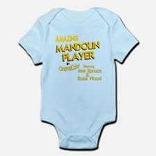 funny mandolin Infant Bodysuit