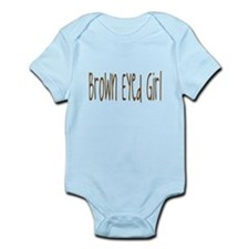 brown eyed girl Infant Bodysuit