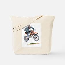 Unique Moto cross Tote Bag
