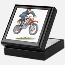 Cute Dirt bike Keepsake Box