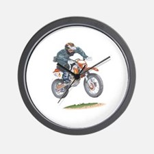 Funny Road king Wall Clock