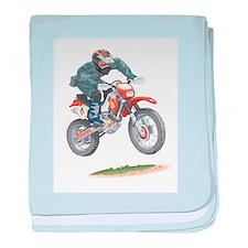 Unique Wheels baby blanket