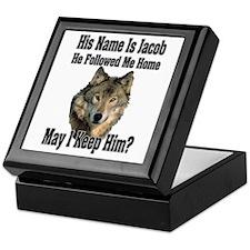 May I Keep Him Keepsake Box