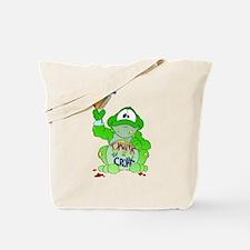 Drink til I Croak Frog Tote Bag