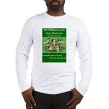 Irish Postcard Long Sleeve T-Shirt
