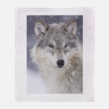 Snow Bound Throw Blanket