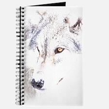 Cute Wolf christmas Journal