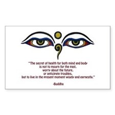 Buddha Quote: The Secret... Decal