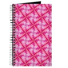 Pink pattern journal