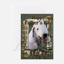 Father's Day - Stone Paws Greeting Cards (Pk of 20